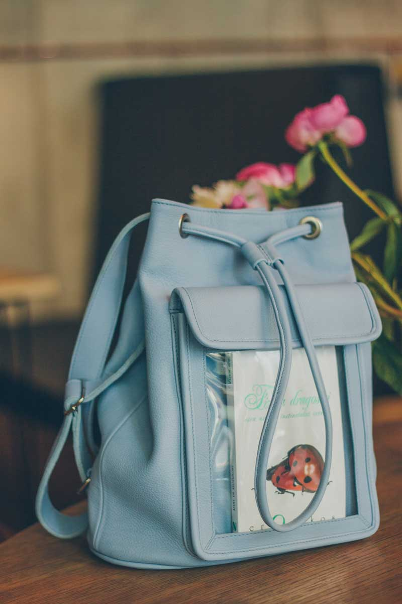 Bookletta Backpack Baby Blue
