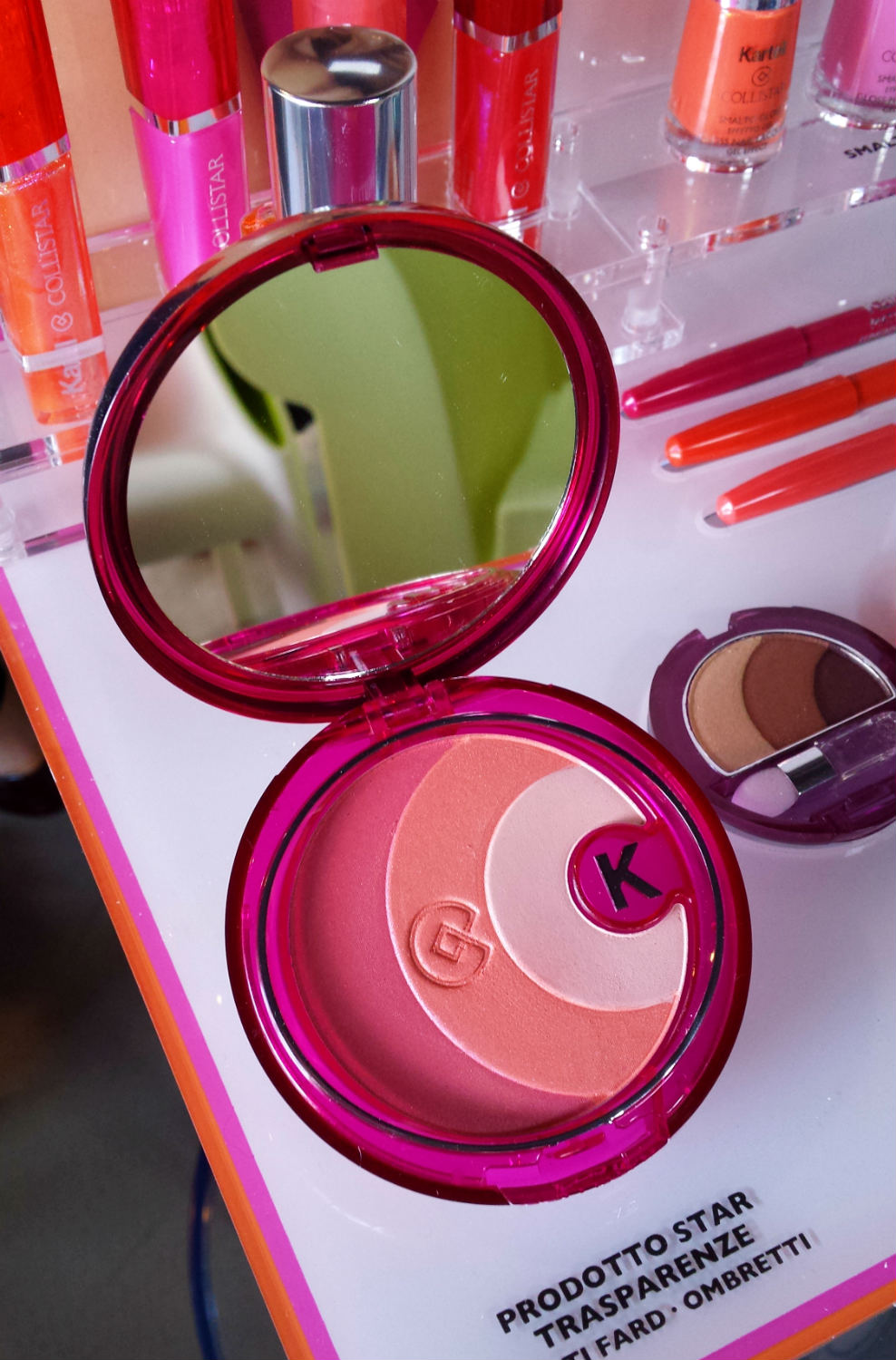 Collistar & Kartell - Multi Blush & Eyeshadows