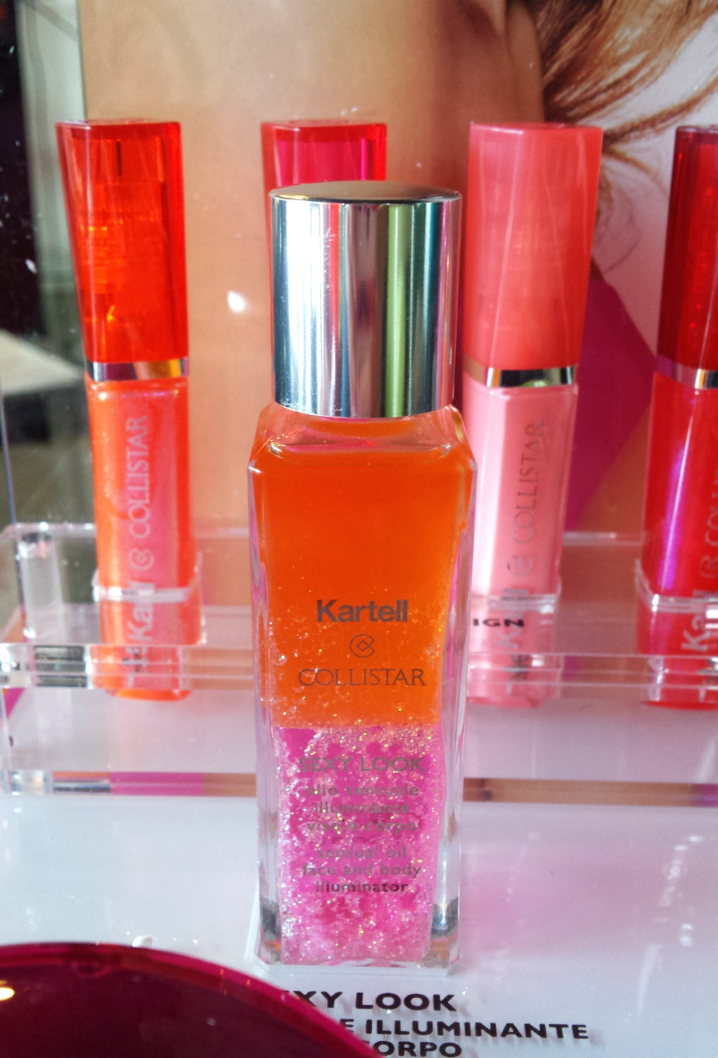 Collistar & Kartell - Sensual Illuminating Oil