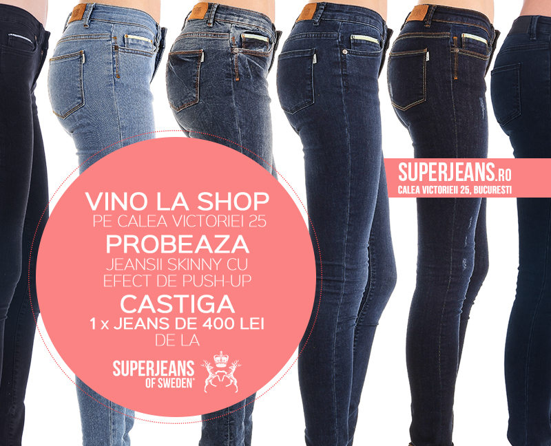 Concurs SuperJeans - Push-up jeans