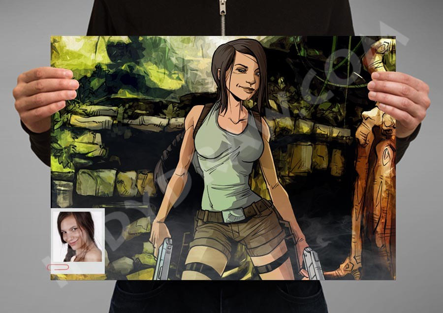 IndyDraw - Lara Croft