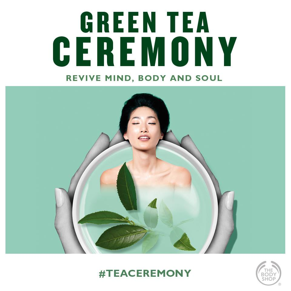 Lansare Fuji Green Tea - The Body Shop