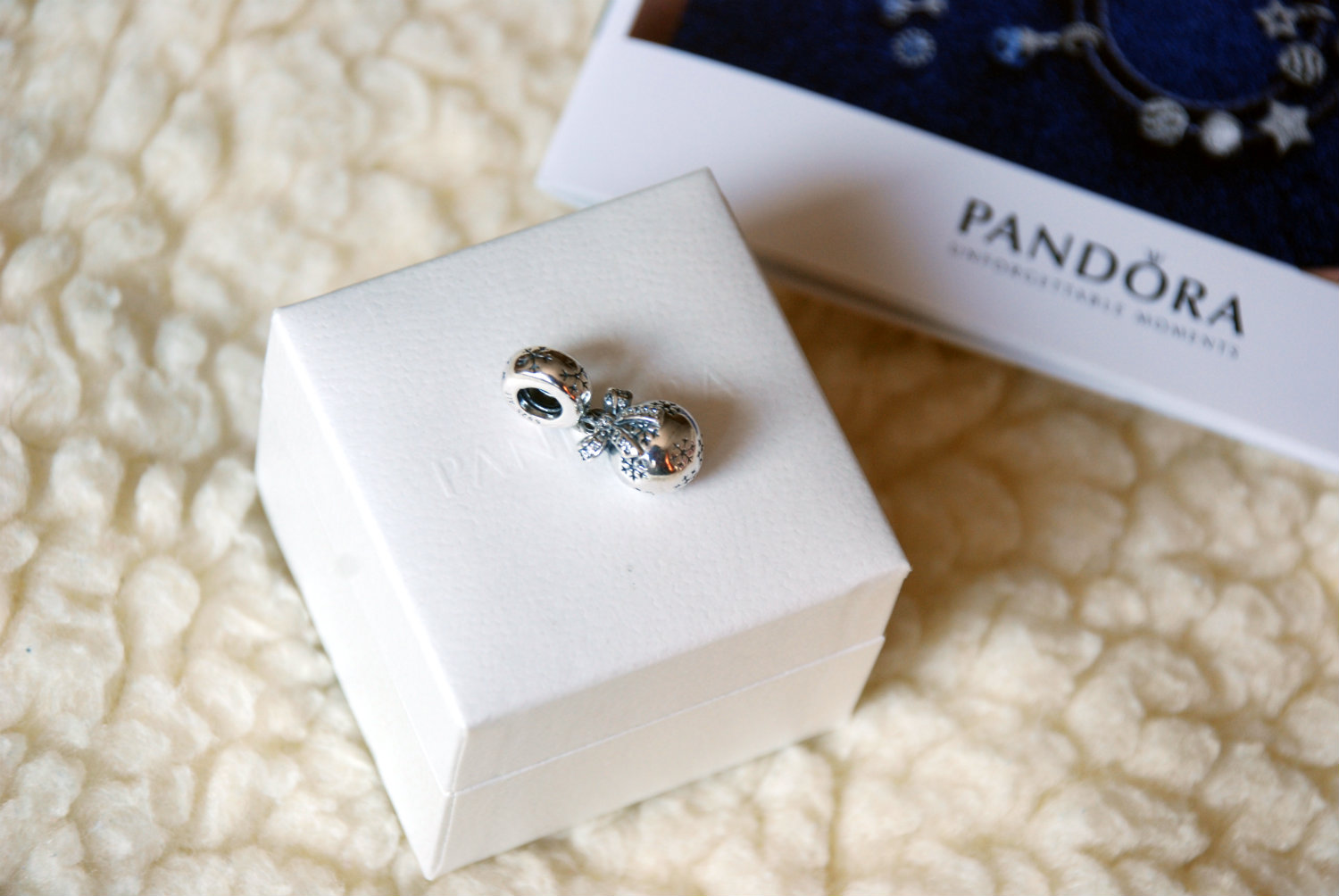 Pandora Christmas Ornament charm