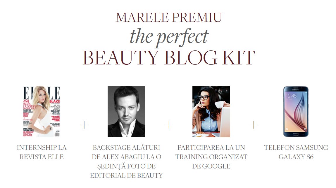 Premiu Scoala de Beauty Blogging L'Oreal 2015