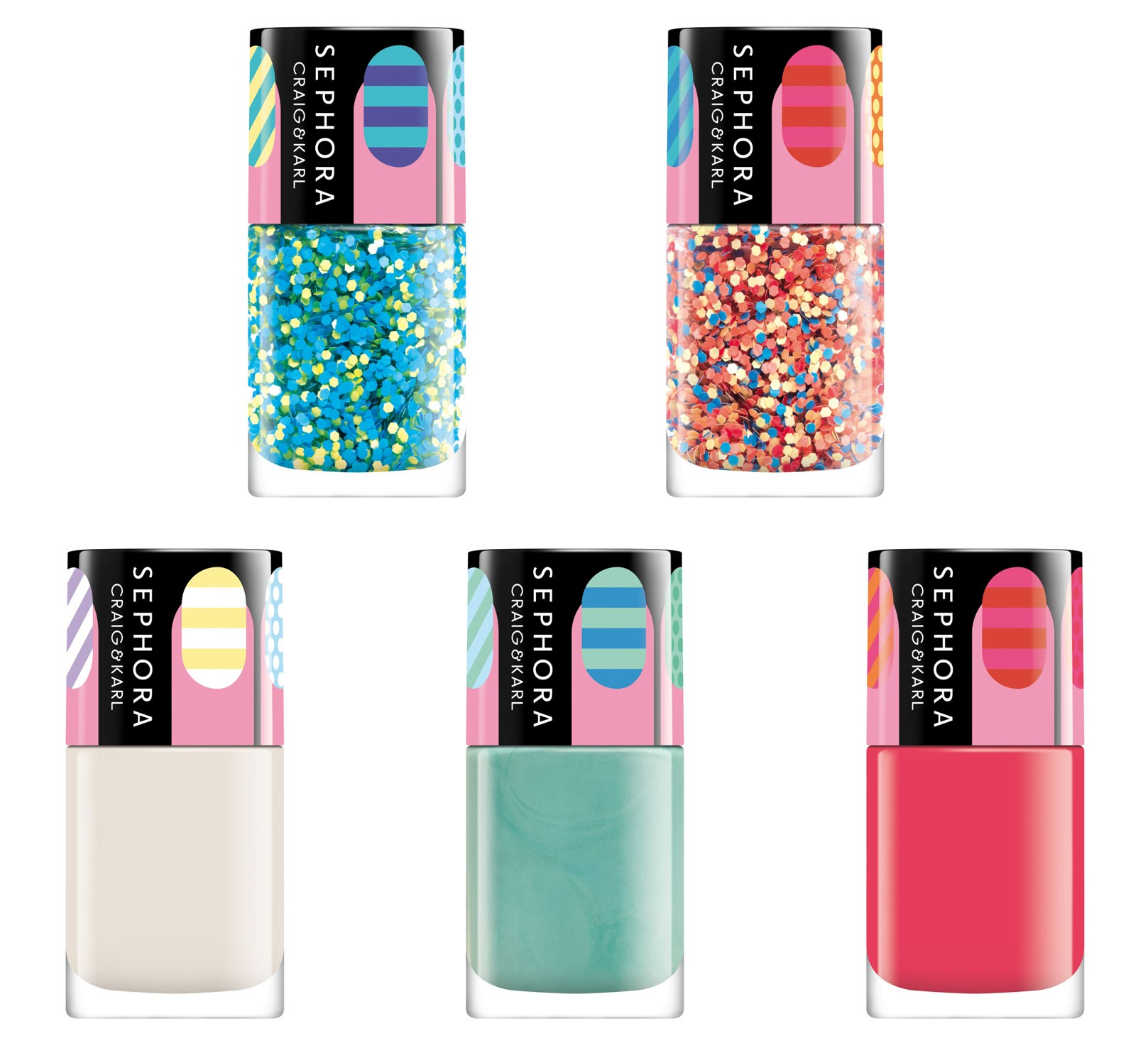 Sephora Craig & Karl Nail Designer & Color Hit