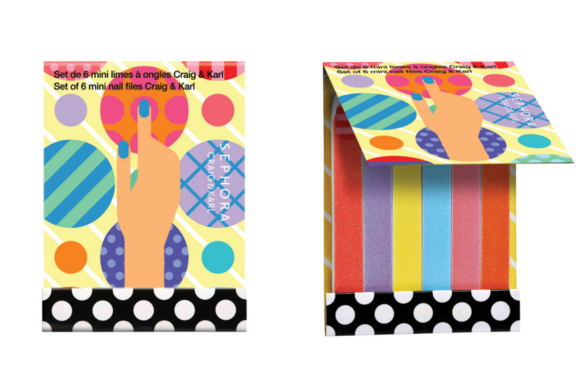 Sephora Craig & Karl set 6 nail files