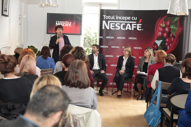 Speakeri - Pasaport in lumea NESCAFE