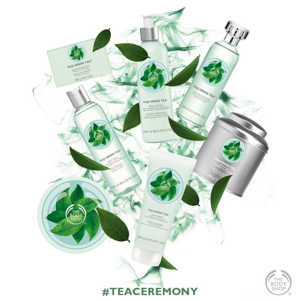 The Body Shop - Fuji Green Tea