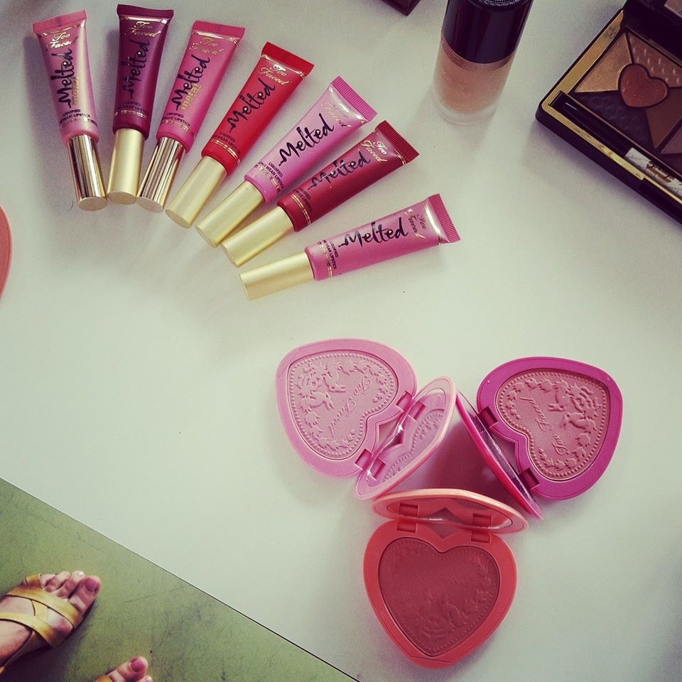 Too Faced Love Flush & Melted Metal