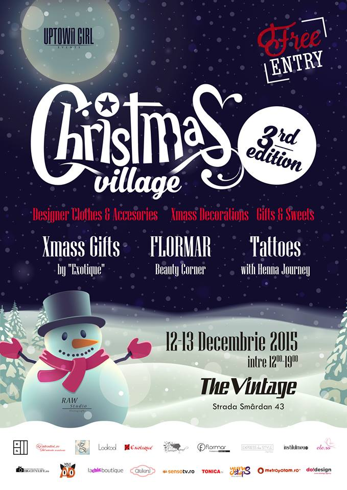Uptown Girl - Christmas Village 3rd Edition
