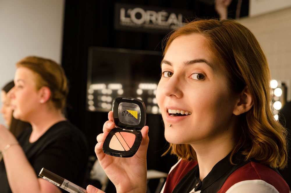 Workshop make-up L'Oreal 4