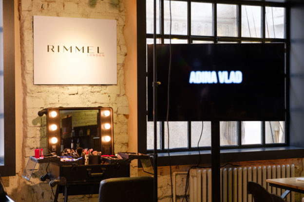 Make-up artist Rimmel - Adina Vlad